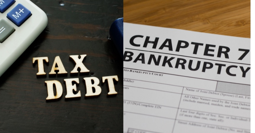 Getting Rid of Tax Debt With Bankruptcy