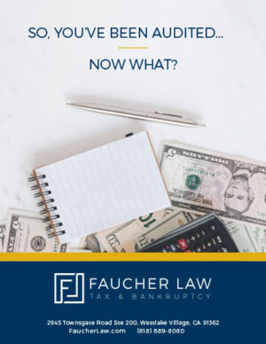 Faucher Law So You've Been Audited Ebook Thumbnail