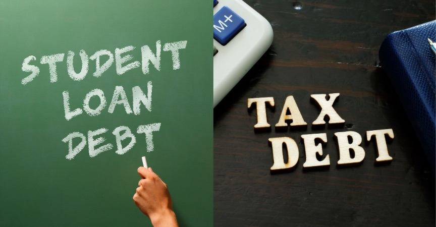 Considering Bankruptcy? Tip 4 – Good for Tax Debt But Not Student Loan Debt